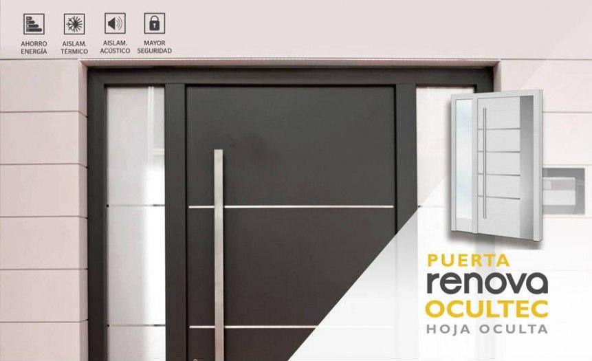 Cat logo puertas de aluminio modelos de exteriores e for Puertas de metal con vidrio